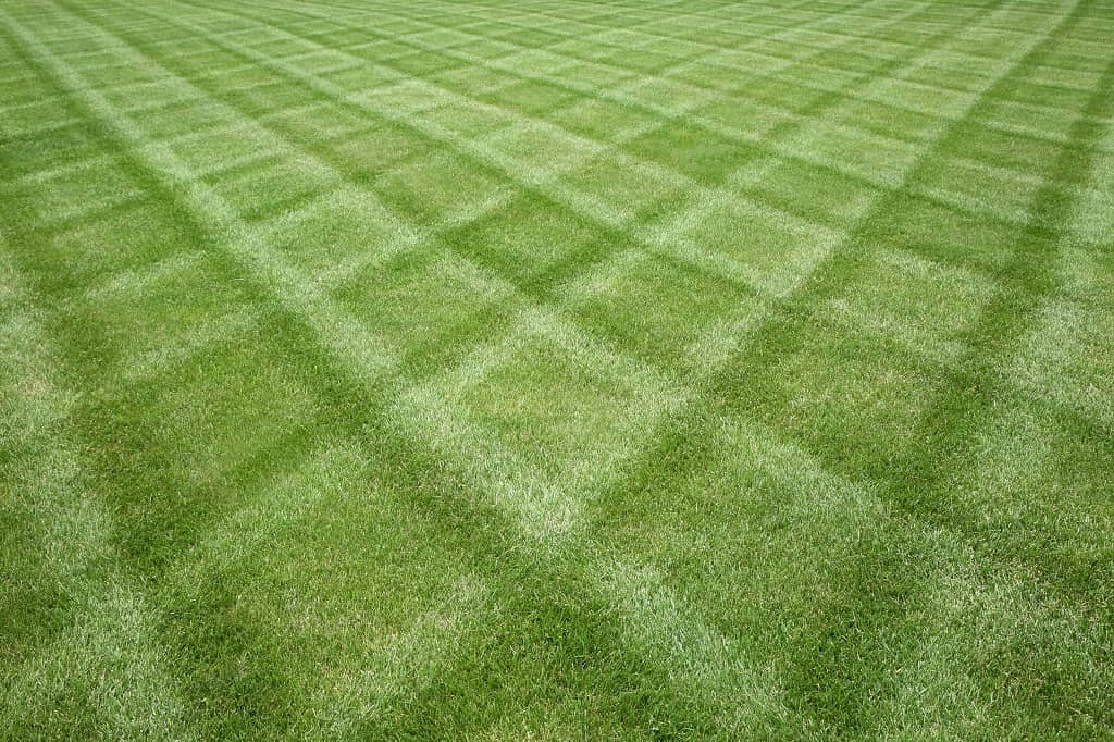 How To Mow a Diamond Grass Pattern